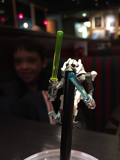 General grievous drinks from a straw. | by T_Muzzy