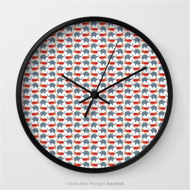 Safari Jack.wall clock
