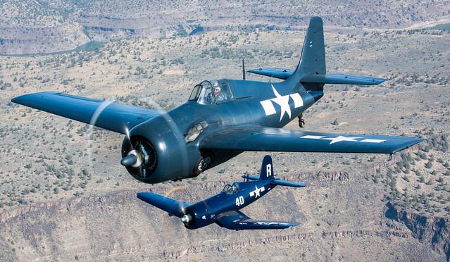 Pacific Duo  FM-2 Wildcat & F4U-7 Corsair - Explore