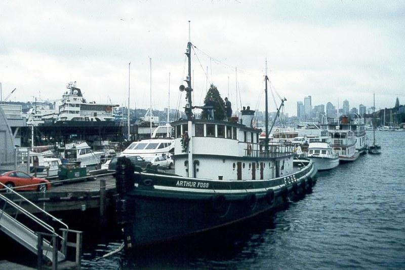 Hp91 991 Seattle Wa Historic Tug Arthur Foss Christm Flickr