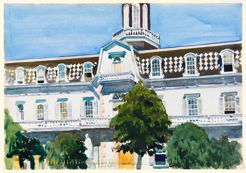 'St Michael's College, Santa Fe' by Edward Hopper