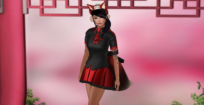 Kawaii School Girl