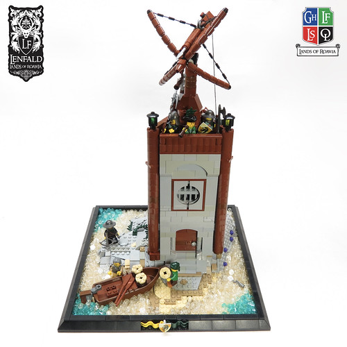 LoR - Port Emerald Harbor Watchtower | by Kingdomviewbricks