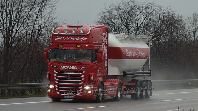 D - Dirnhofer Scania R09 TL >Red Buffalo<