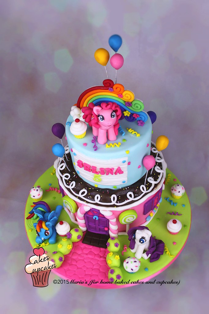 Sensational Mlp Cake Marias Cakes Flickr Funny Birthday Cards Online Eattedamsfinfo