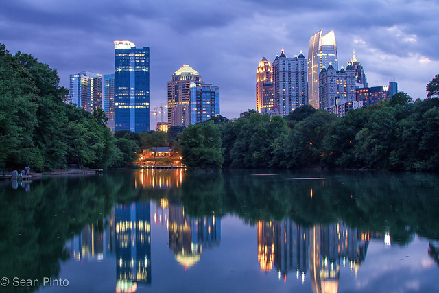 Atlanta Skyline - Piedmont Park