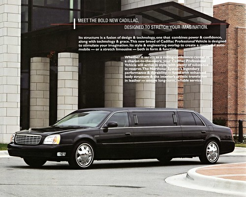 2000 Cadillac Limousine   by aldenjewell