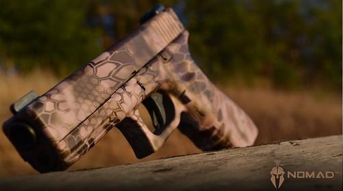 Pistol Skin in Kryptek Nomad