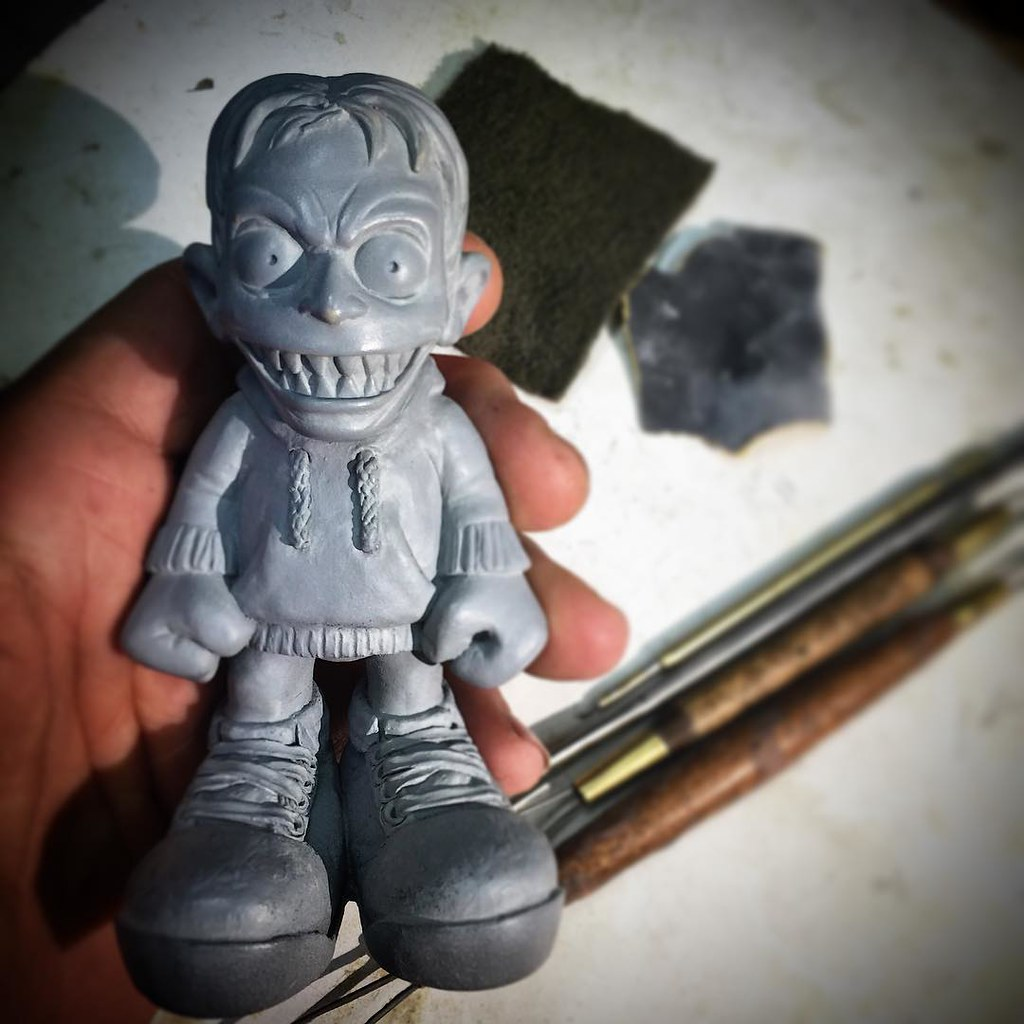 Last bit of sanding and polish before the silicone mold is… | Flickr