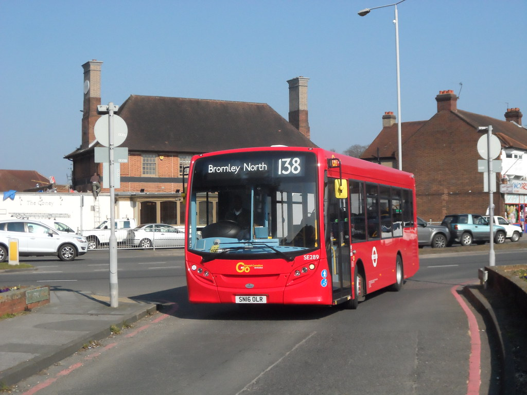 Brand New Bus, 1st Day in Service, SE289 SN16 OLR on route… | Flickr