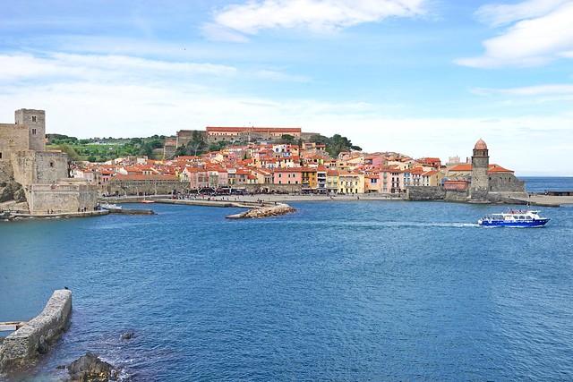Le port de Collioure (Pyrénées Orientales)