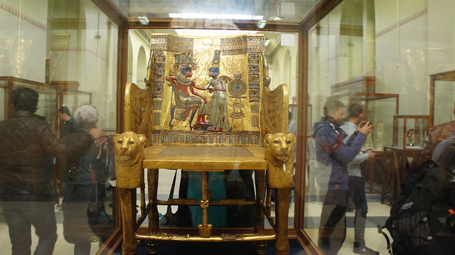 King Tut's Golden chair
