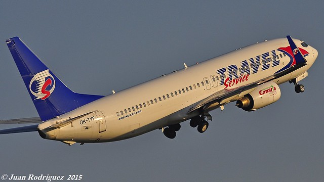 OK-TVF - Travel Service Boeing 737-8FH