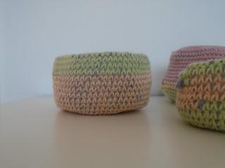 medium crochet basket | by woolapple