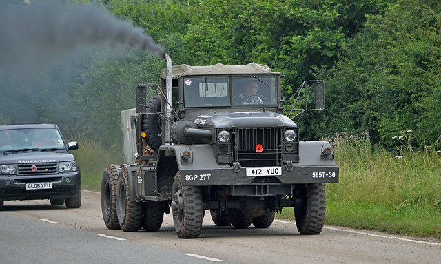 412YUC Kaiser M52A2 US Army Tractor Cab