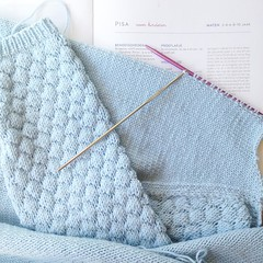My best lessons in patience  #dropsbabymerino #julesenjulievoorgrootenklein