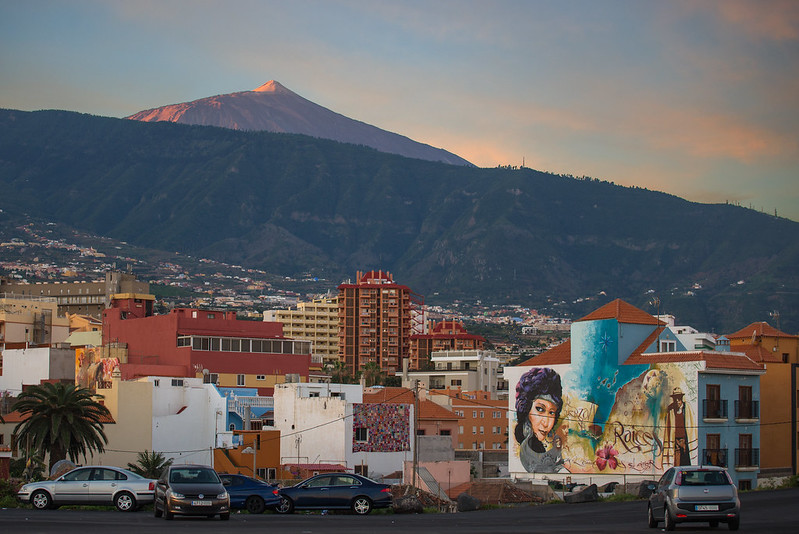 El Teide and a nice Graffiti