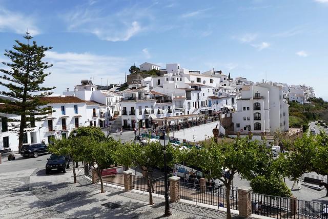 Frigiliana Pueblo Blanco Andalusia Spain
