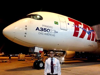 The Americas' First A350 PR-XTA