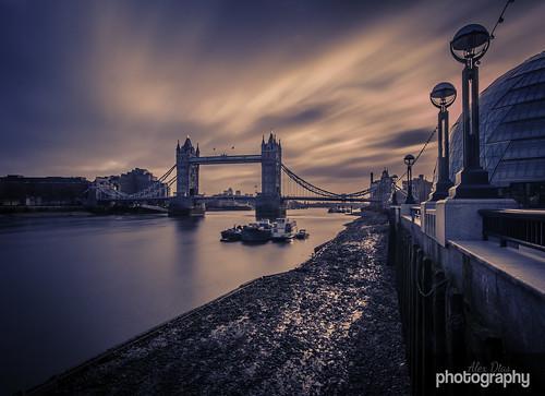 longexposure morning bridge sky london tower 30 thames clouds sunrise river cityhall filter nd lunaphoto
