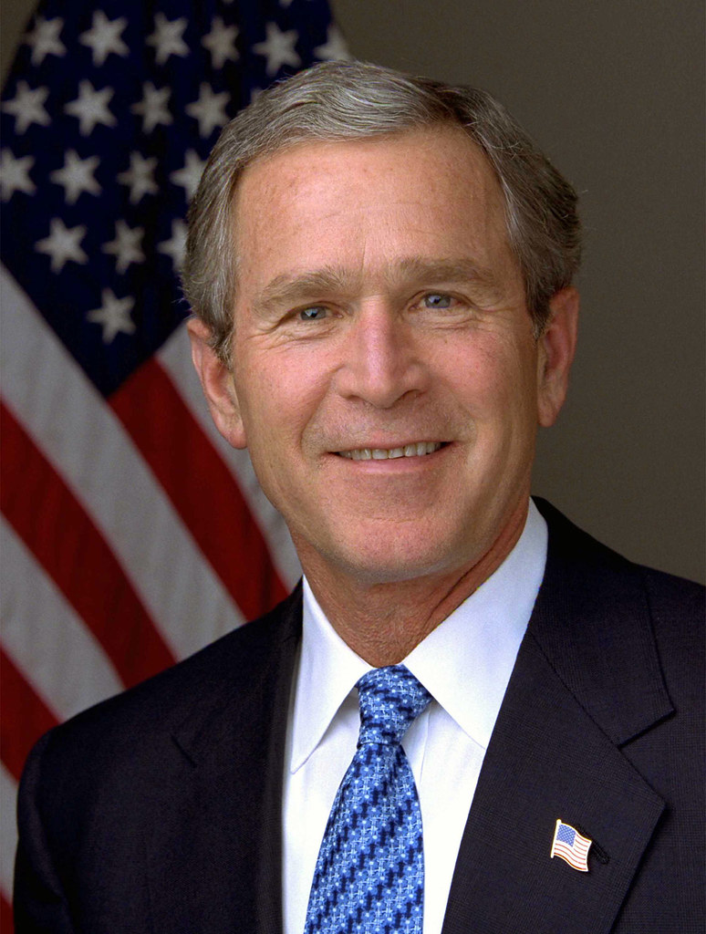43 George W Bush | George W. Bush by Eric Draper, 2003. Whit… | Flickr