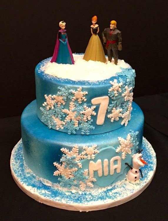 Fantastic Frozen Cake By Amy Northern Utah Birthdaycakes4Free Flickr Funny Birthday Cards Online Overcheapnameinfo