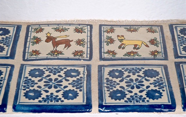 Moose & cat tiles
