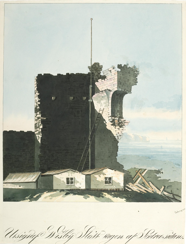 Visborg castle ruin, Visby, Gotland, Sweden