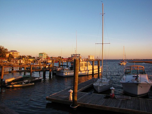 southport brunswickcounty northcarolina yachtbasin capefearriver intercoastalwaterway water marina boats sailboats sunset floating outdoors dusk sky bluesky smalltownnorthcarolina smalltown gerrydincher nc