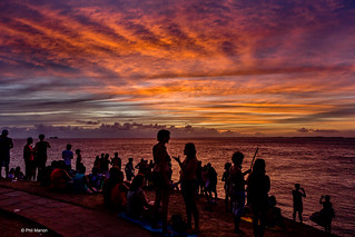 Watching the sunset near Farol do Barra, Salvador | by Phil Marion (176 million views - THANKS)