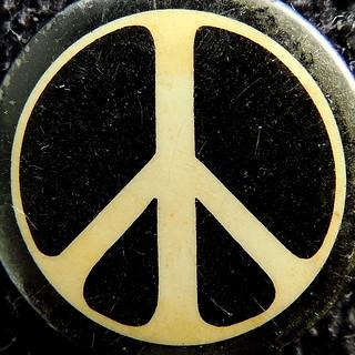 Peace 'button' ... for Macro Mondays