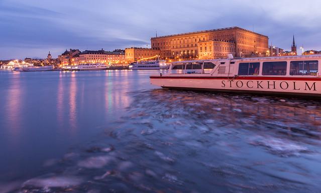 January ice, Stockholm