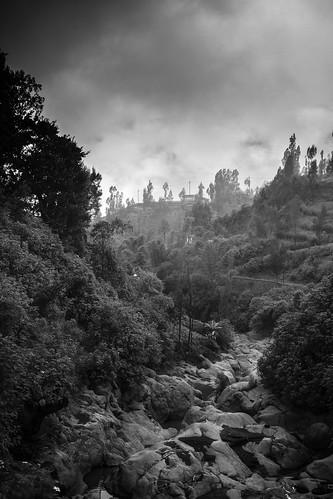 voyage travel sky blackandwhite bw monochrome misty clouds canon indonesia landscape asia southeastasia noiretblanc cloudy outdoor nb 7d asie nuages paysage indonesie brume diengplateau dieng canoneos7d canon7d