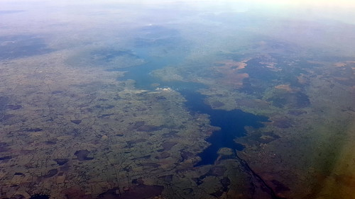 ireland lake aerial
