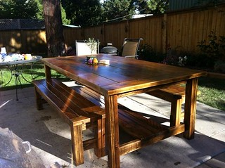 finished farmhouse table | by engarde_99