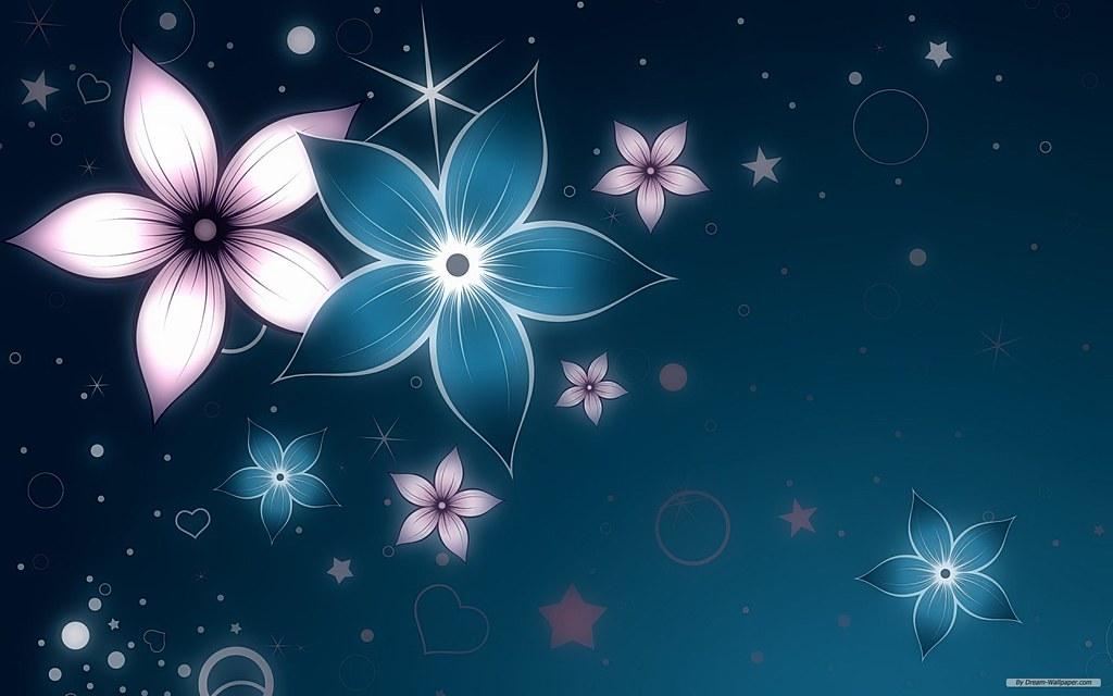 Abstract Flowers Hd Wallpaper Ami Noviant Flickr