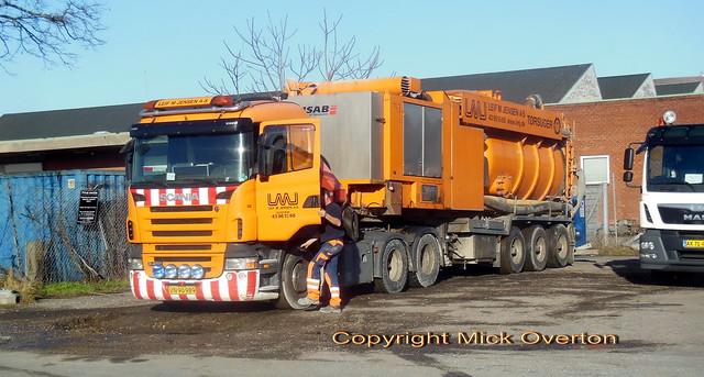 Scania R480 VN90989 heavy duty pumper