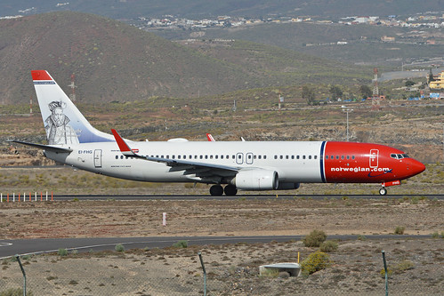 Boeing 737-86N(w) 'EI-FHG' Norwegian | by Hawkeye UK