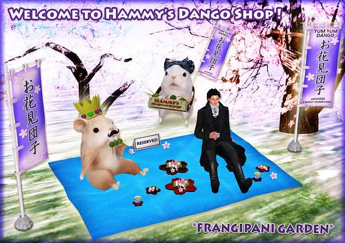 Hammy's Ohanami Dango Shop has been opened! | by Frangipani Garden