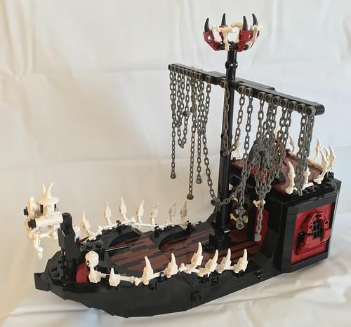 Skeleton Ship Attack