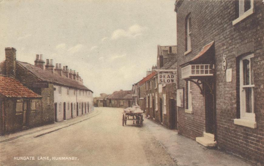 Hunmanby, Hungate c.1900 (archive ref PO-1-71-11)