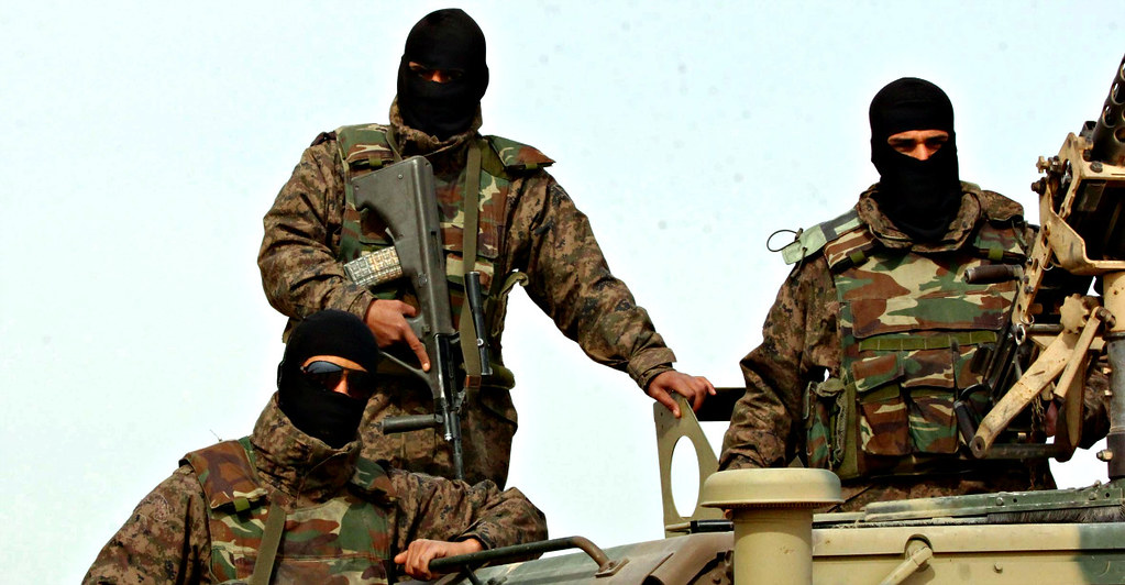 National Guard | Special forces from the Tunisian National G