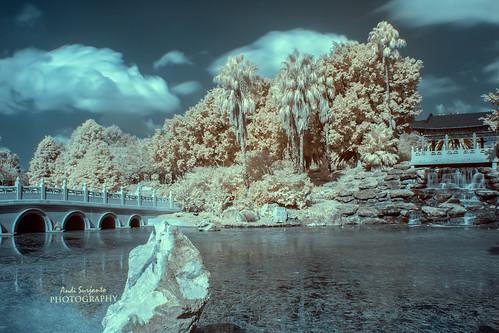 landscape reserve waterfalls infrared nurragingy doonside