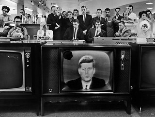 1962 ... watching the President- Cuban Missile Crisis!