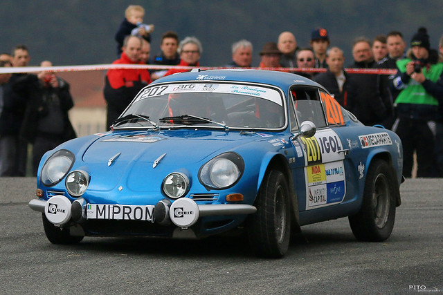 207 - FLAMENT Philippe et MANESSIEZ Jean - Renault Alpine A 110