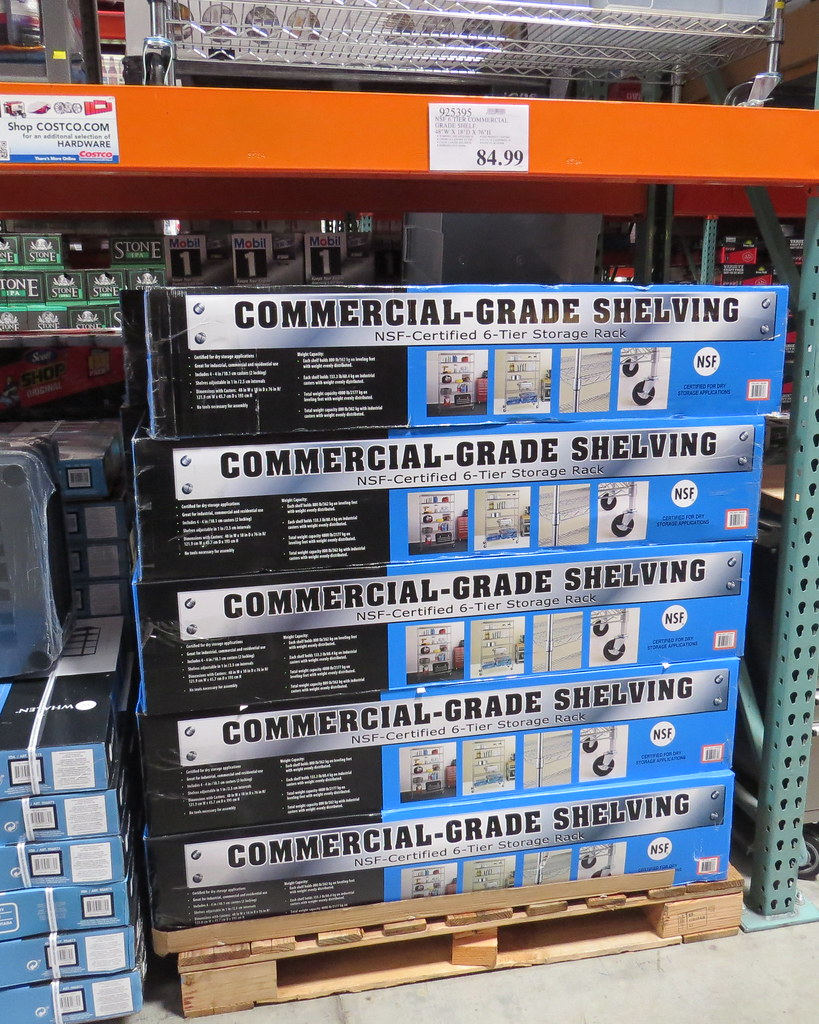 Commercial Grade Racks From Costco These Are The Inter Met