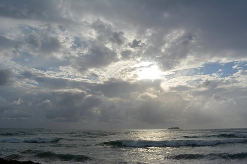 sea sky seascape water sunrise island waves shore tasmansea cloudscape breakingwaves sapphirebeach southpacificocean sunlightthroughclouds