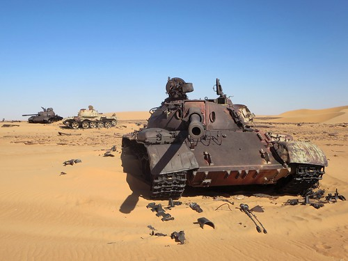 Three Libyan Tanks | by D-Stanley
