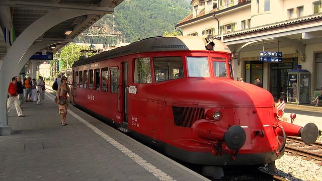 Roter Pfeil in Interlaken - Juni 2010