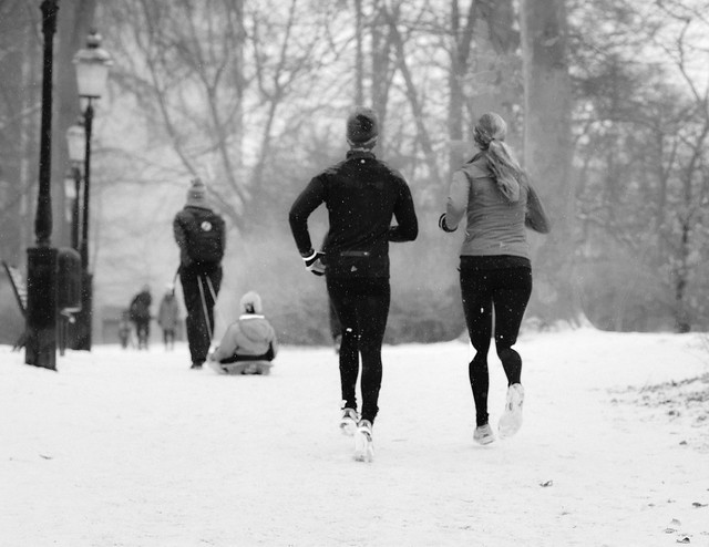 Keep on jogging